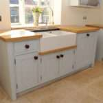 Standing Sink Unit Double Belfast