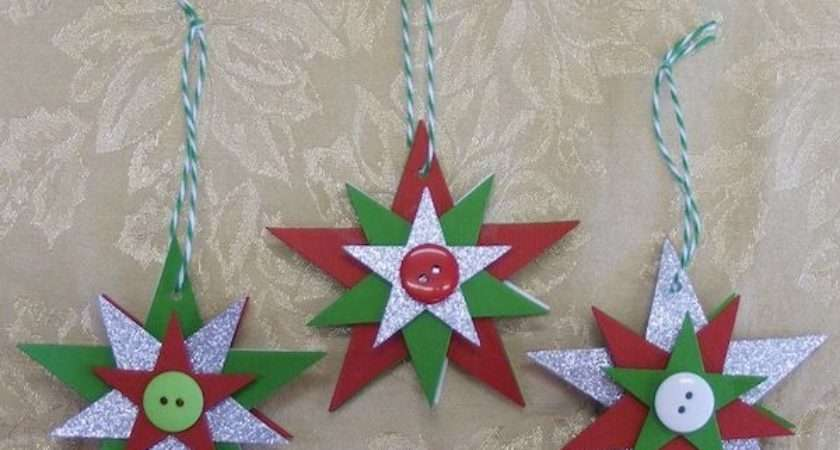 Star Christmas Crafts Special Day Celebrations