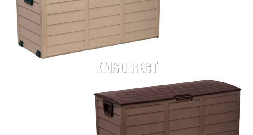 Starplast Outdoor Garden Plastic Storage Utility Chest