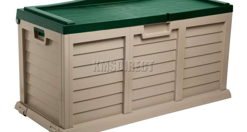 Starplast Outdoor Garden Storage Utility Chest Cushion Box