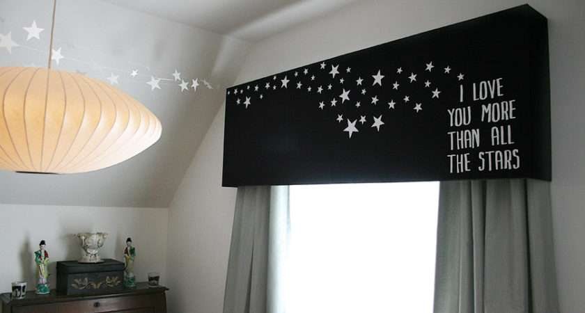 Starry Bedroom Pelmet Box Romantics Offbeat Home Life