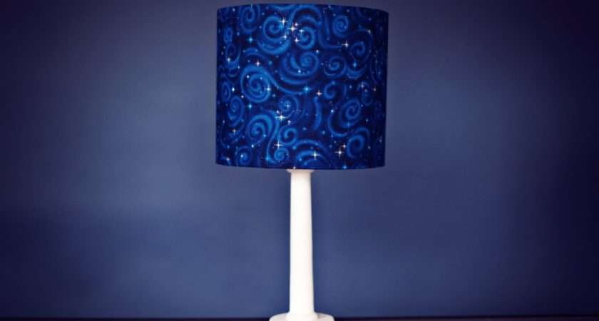 Stars Lamp Planets Shade Kids Bedroom Space