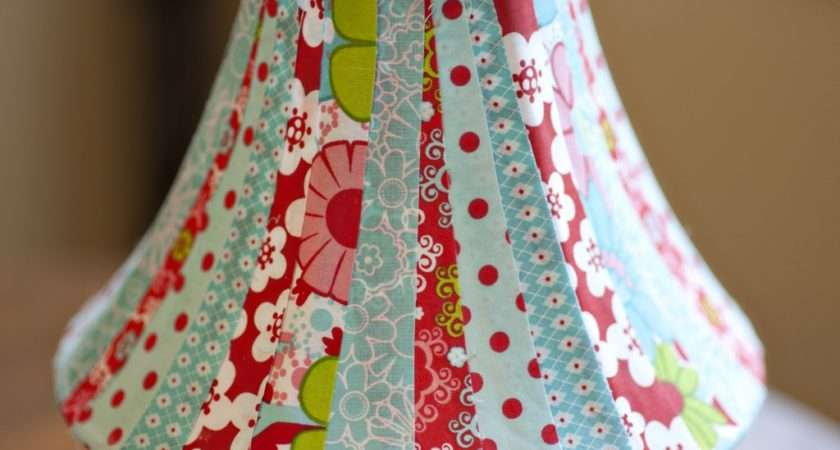 Started Lampshade Making Overly Colorful Project