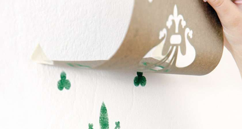 Stencils Design Decorate Organic Natural Paint