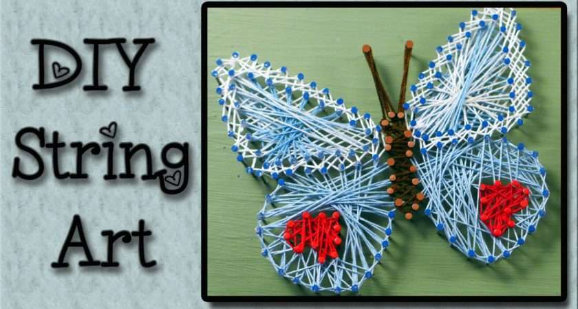 Step Tutorial String Art Craft