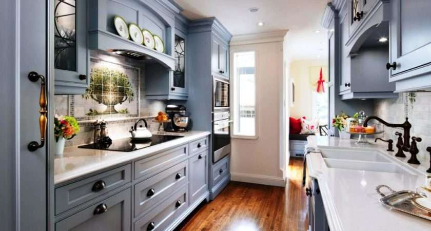 Steps Create Galley Kitchen Designs Theydesign
