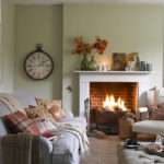 Steps Creating Country Cottage Style Living Room