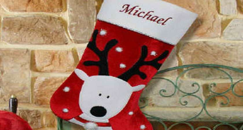 Stocking Decorating Ideas One Christmas