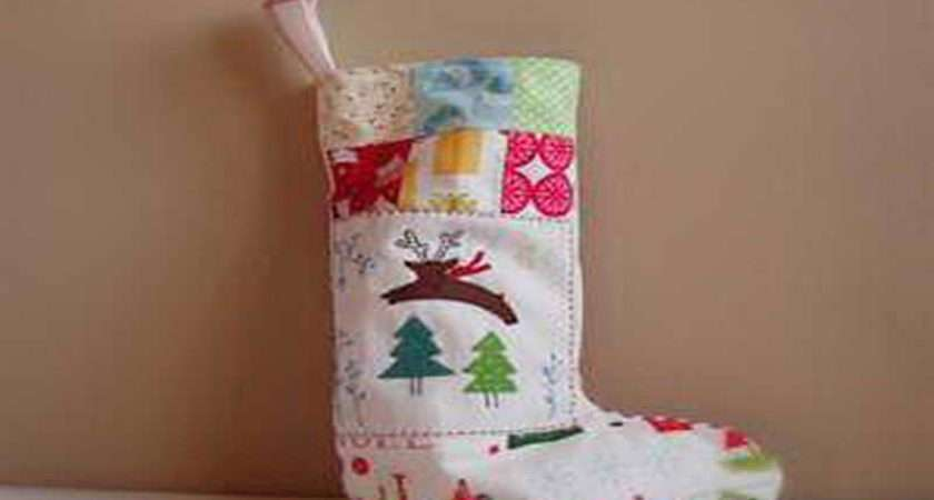 Stocking Decorating Ideas White Christmas