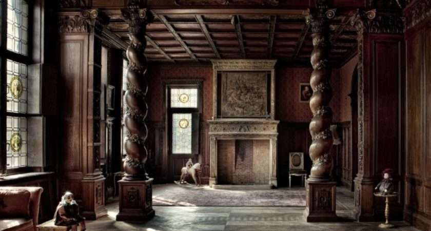 Stone Fireplaces All Great Complements Gothic Decor