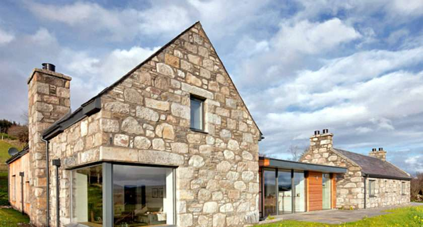 Stone Glass Torispardon House Modern Take
