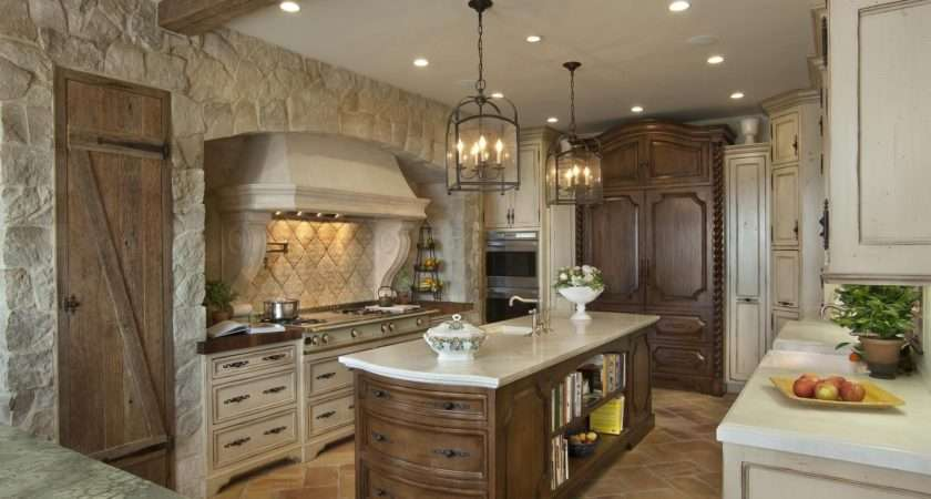 Stone Kitchen Interior Decoration Ideas Small Design