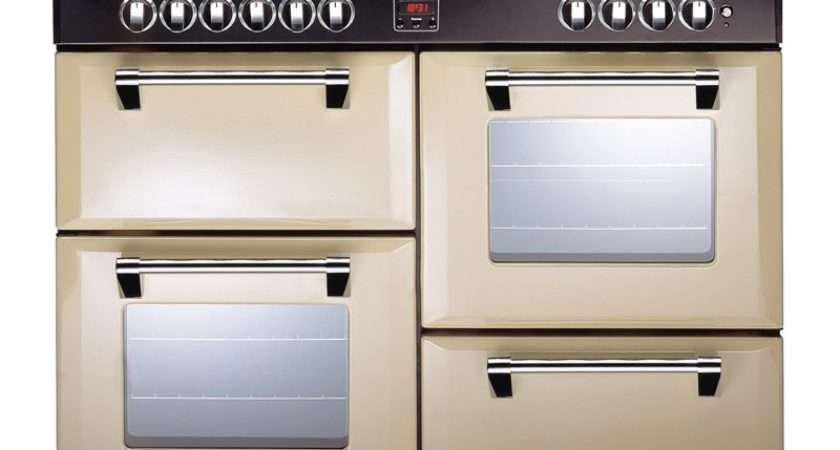 Stoves Richmond Dft Dual Fuel Range Cooker Champagne