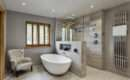 Stunning Master Wetroom Walk Through Dressing Room