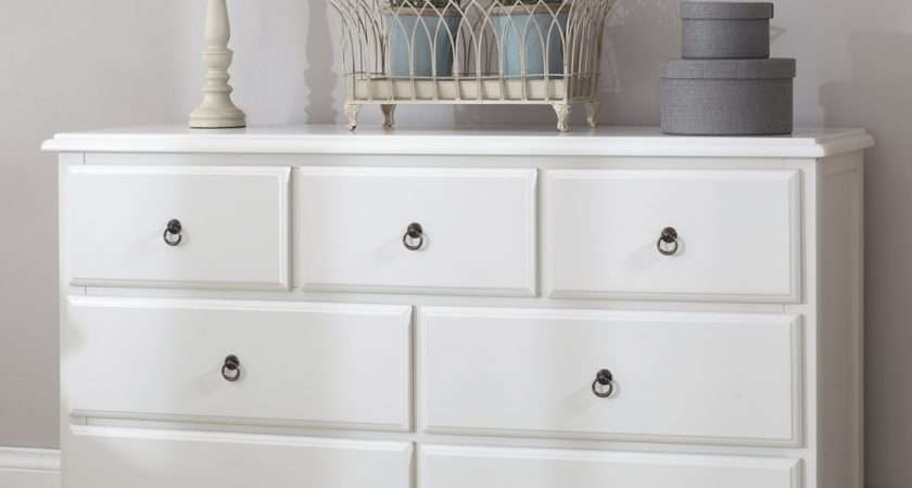 Stunning Romance Large Chest Drawers Quality White