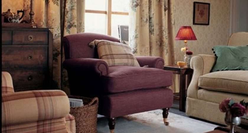 Style Living Room Country Sofas Decor Decorating