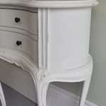 Style Shabby Chic Bedside Table White French
