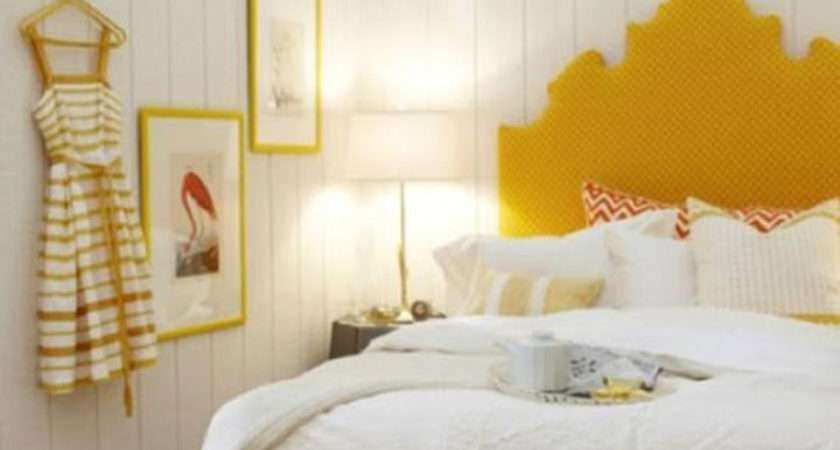 Stylish Bedroom Design Ideas Yellow Colors