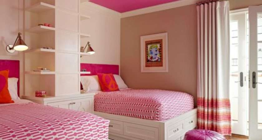 Stylish Girls Pink Bedrooms Ideas