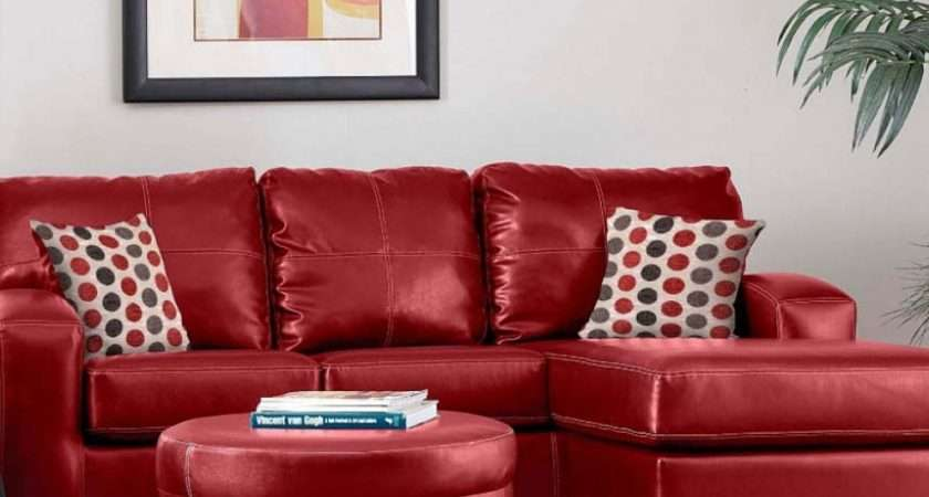 Stylish Red Leather Sofa Decorating Ideas Buildsimplehome