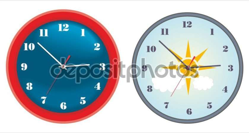 Stylish Wall Clocks Vector Elmo