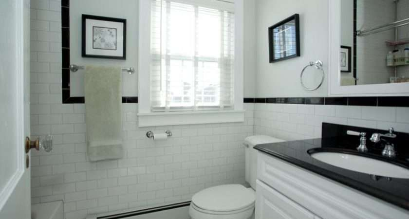 Such Great Ideas Want Black White Retro Bathroom Too