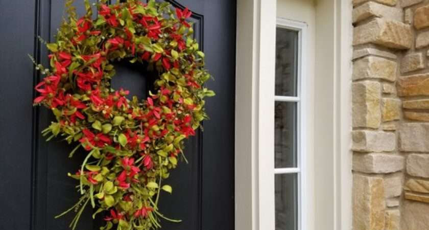 Summer Wreaths Wreathred Daisy Wreath Front Door