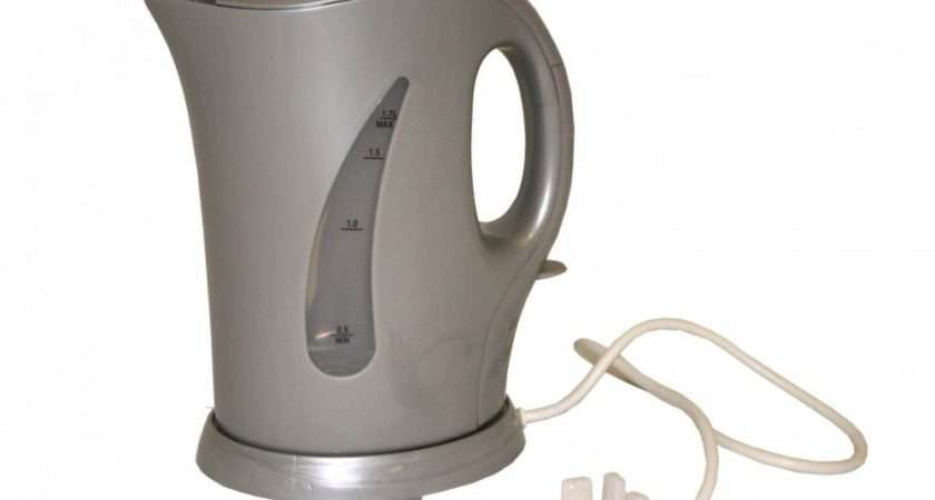 Sunncamp Low Watt Cordless Jug Kettle Silver Outdoor Cooking