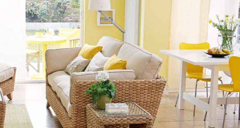Sunny Yellow Living Room Design Ideas Interiorholic