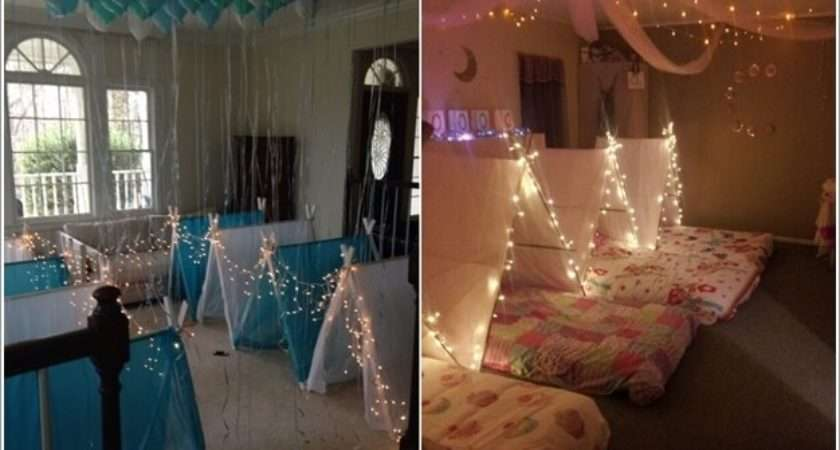 Super Cute Slumber Party Decor Ideas