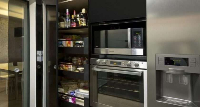 Super Modern Kitchen Pantry Cabinets Rilane