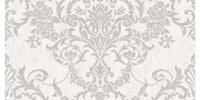 Superfresco Easy Paste Wall Victorian Damask Silver