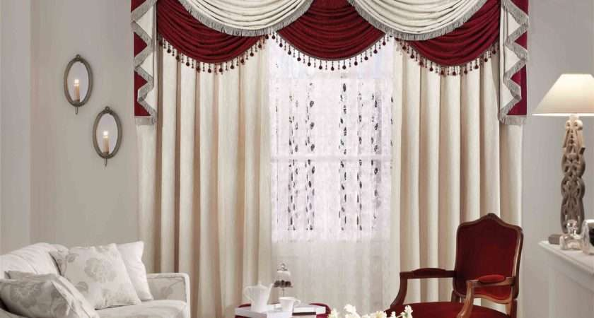 Swag Curtains Living Room Valance