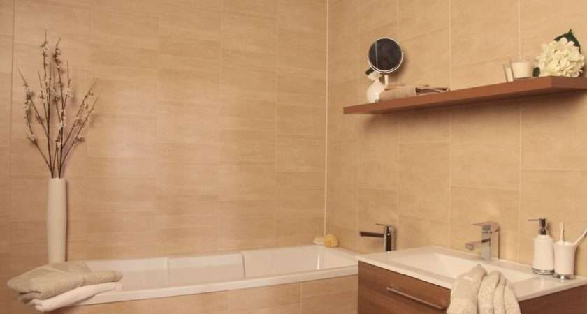 Swish Marbrex Sandstone Large Tile Effect Wall Panels