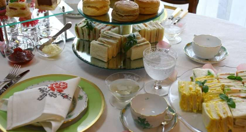 Table France Afternoon Tea Decoration