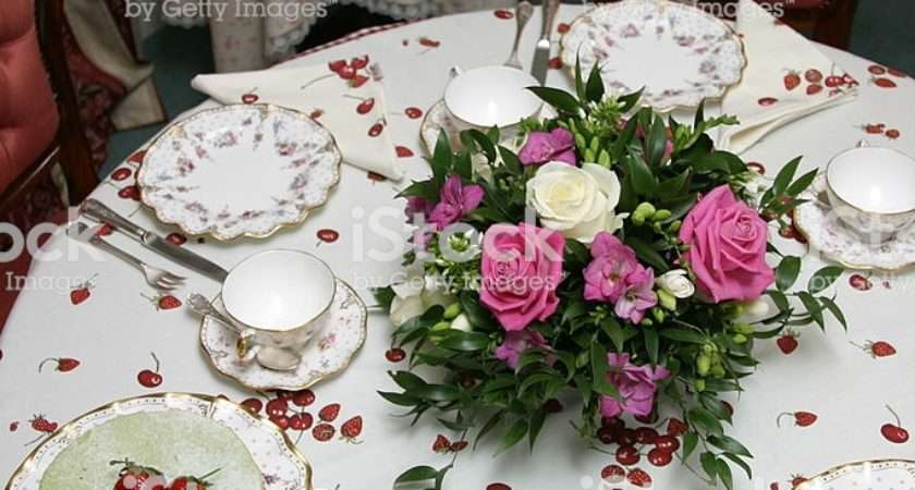 Table Setting English Tea Time More