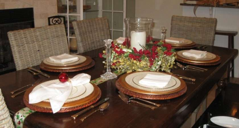 Table Setting Ideas Everyday Not