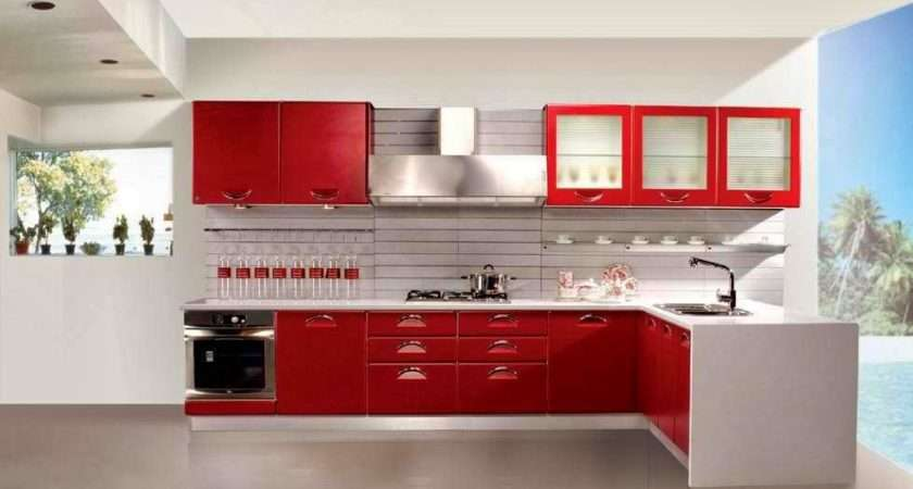 Tag Blue Red Color Kitchen Designs Housing Mania