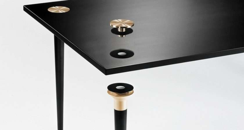 Take Ikea Joe Doucet Creates Flat Pack Table