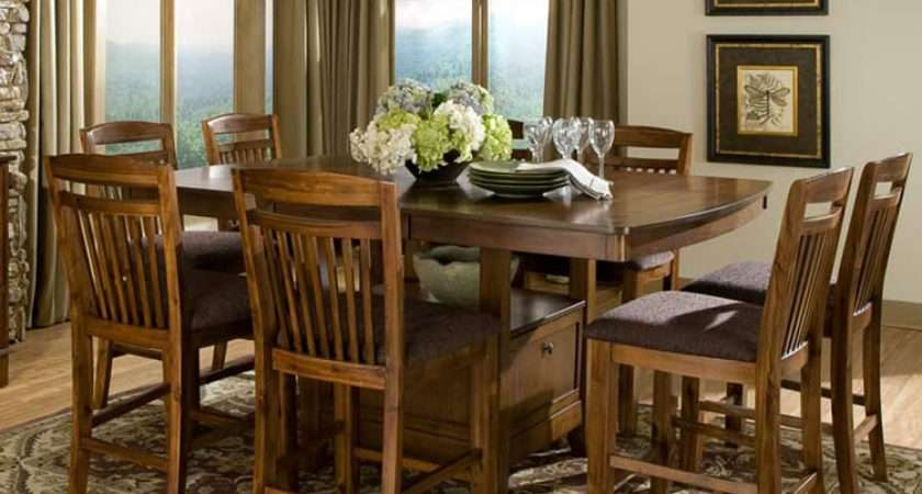 Tall Dining Table Storage Tips