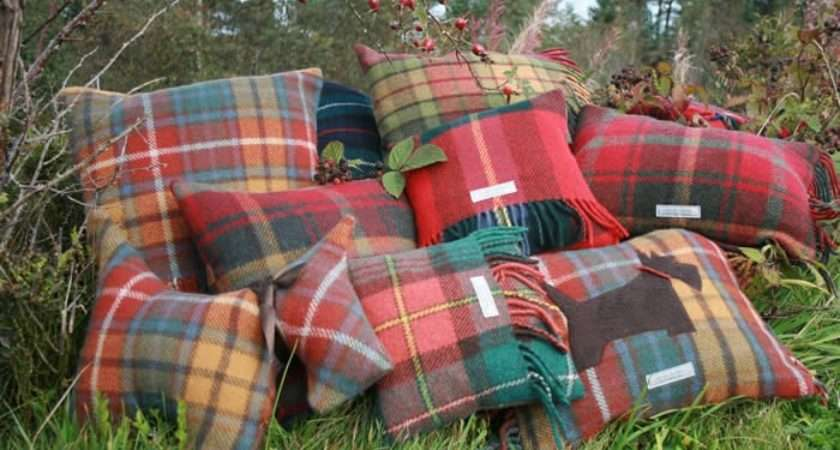 Tartan Cushions Cushion Covers Have Get Some Shirts