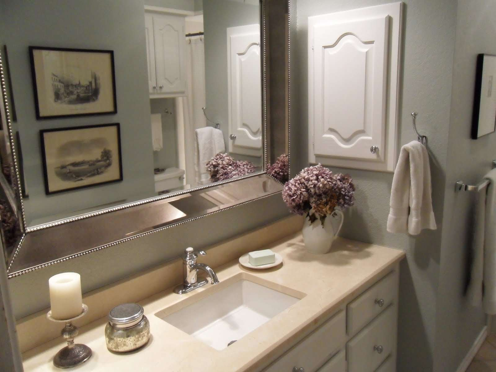 Tattered Style Bathroom Makeover Before After