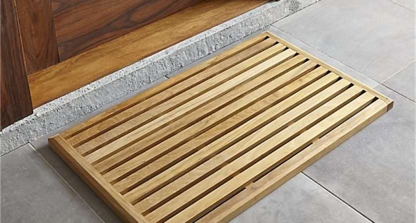 Teak Mat Reviews Crate Barrel