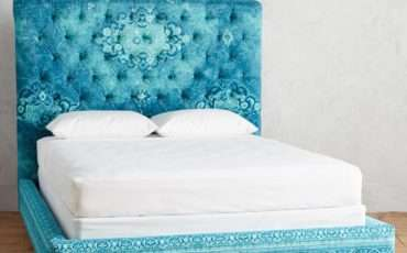 Teal Rug Printed Orianna Bed Everything Turquoise