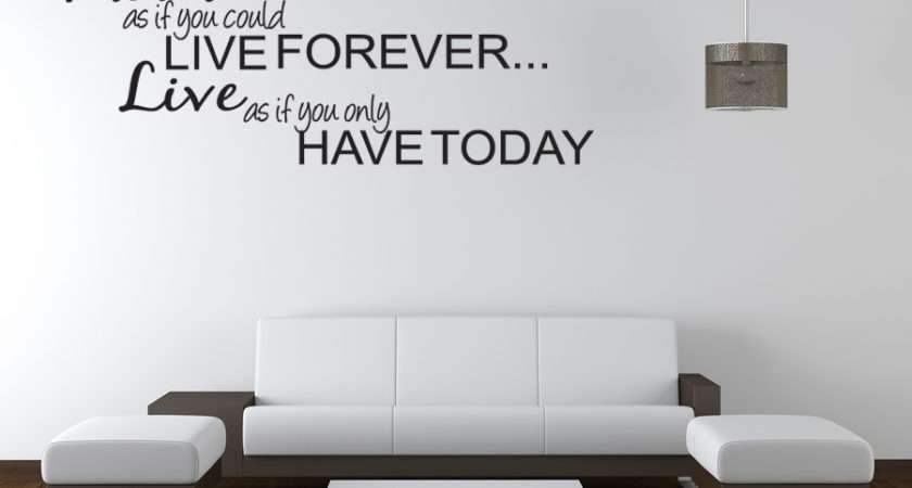 Teen Bedroom Vinyl Wall Quote Art Decal Sticker Room Decor Ebay