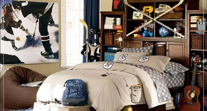 Teen Boys Sports Theme Bedrooms Room Design Ideas