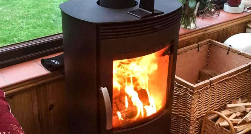 Termatech Freestanding Wood Burning Stove Ideal
