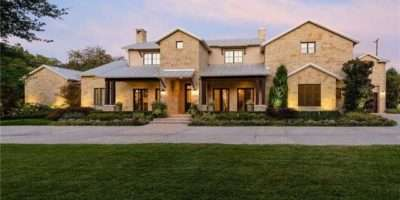 Texas Hill Country Feeling Contemporary Dallas