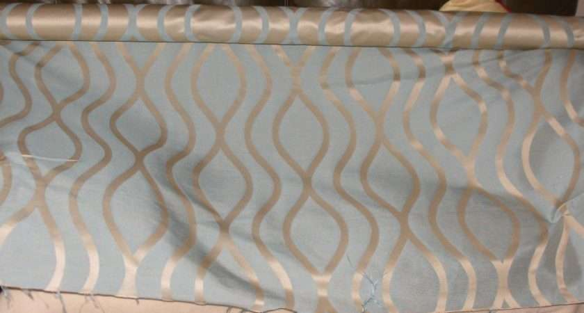 Textiles Potenza Duck Egg Blue Quality Curtain Fabric