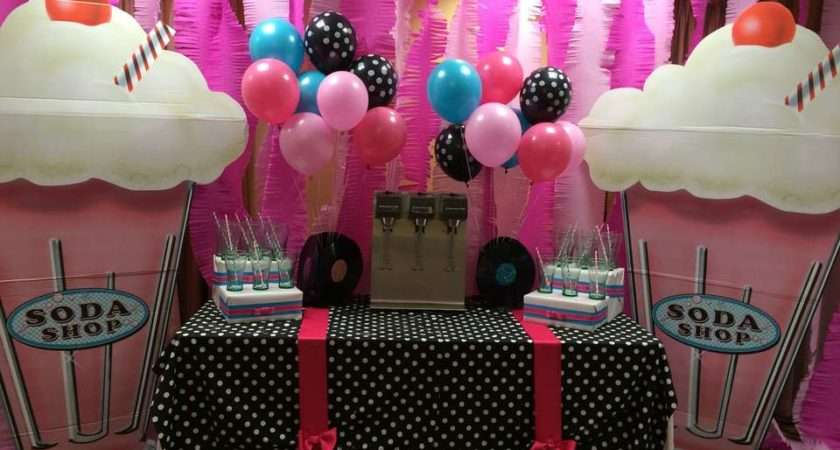 Theme Sock Hop Birthday